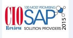 "BlackLine has been recognized by CIOReview as one of the ""100  Most Promising SAP Solution Providers of 2015"" Image"