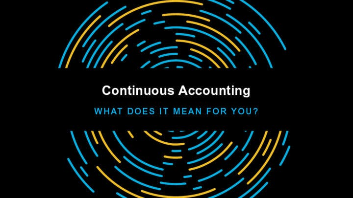 Continuous Accounting Begins with Continuous Process Improvement