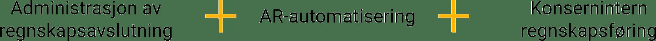 Finance Close Management + AR Automation + Intercompany Accounting
