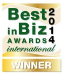 BlackLine was named a Gold Winner in the Best in Biz Awards Image
