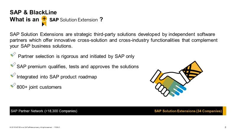 SAP & BlackLine Solution Extension SolEx Image | BlackLine Magazine