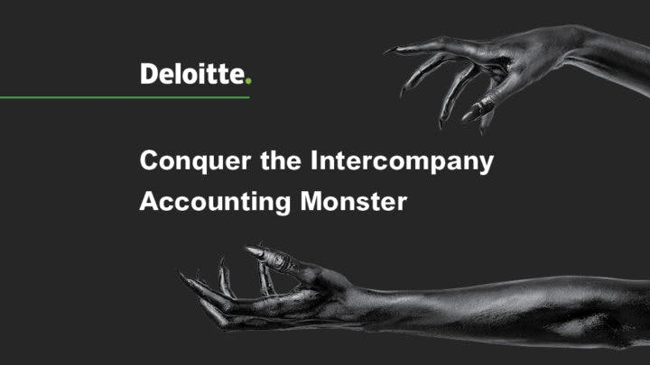 How to Conquer the Intercompany Accounting Monster Image | BlackLine Magazine