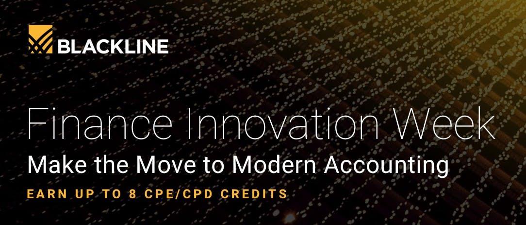 Finance Innovation Week is On Demand Image | BlackLine Magazine