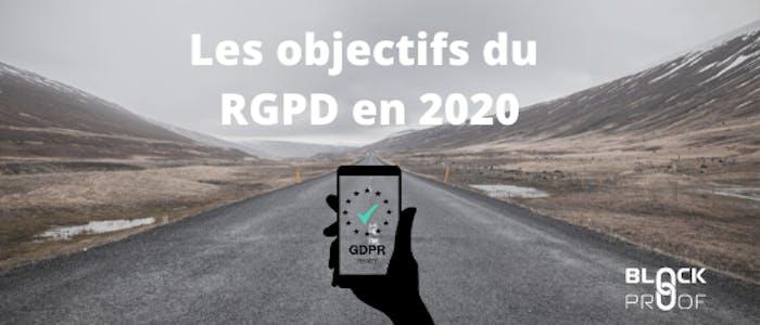 Les objectifs du RGPD en 2020