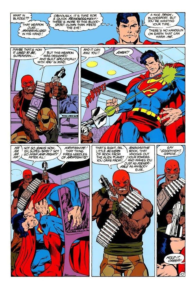 Sanguinário e Superman/DC Comics/Divulgação