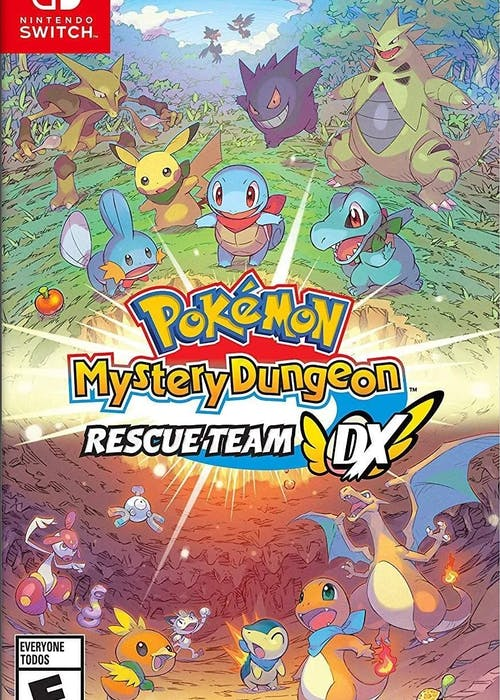 Review | Pokémon Mystery Dungeon Rescue Team DX