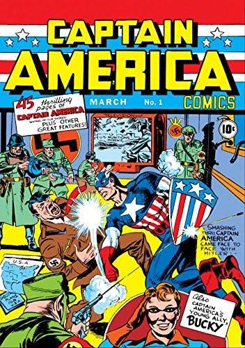 Capitan America #1 - a representatividade no universo das HQs