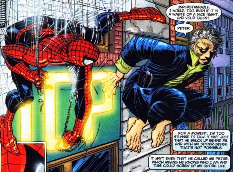 homem aranha de volta ao lar hq