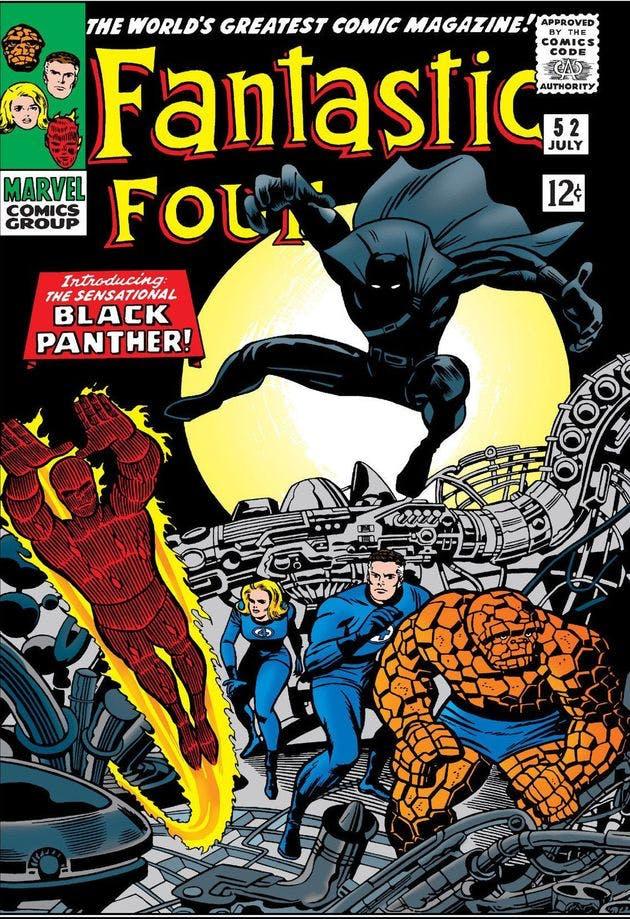 Fantastic Four - a representatividade no universo das hqs
