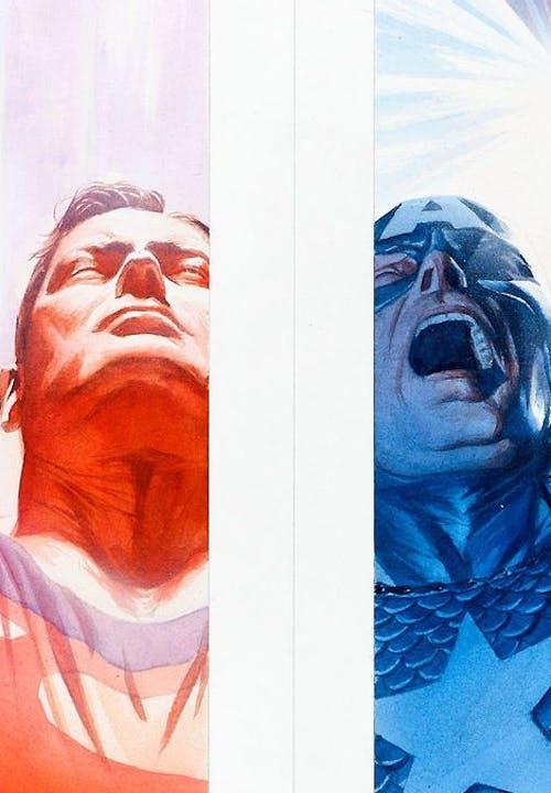 Superman e Capitão América | Opostos iguais dos cinemas