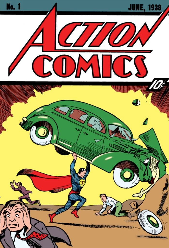 Action Comics #1 - a representatividade no universo das HQs