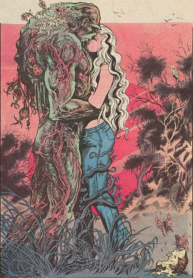 Monstro do Pantano - a representatividade no universo das HQs