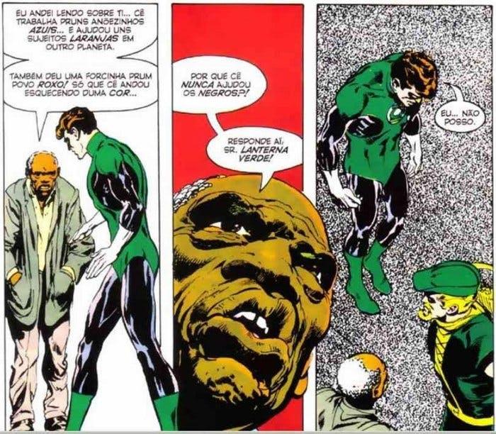 Lanterna verde e arqueiro verde - a representatividade no universo das hqs