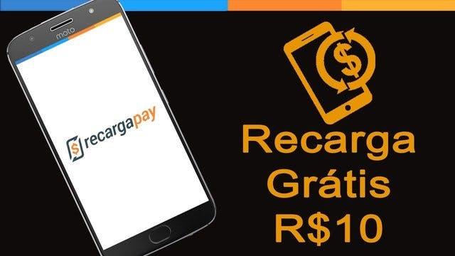 Ganhe R$10 para recarregar seu celular - RecargaPay