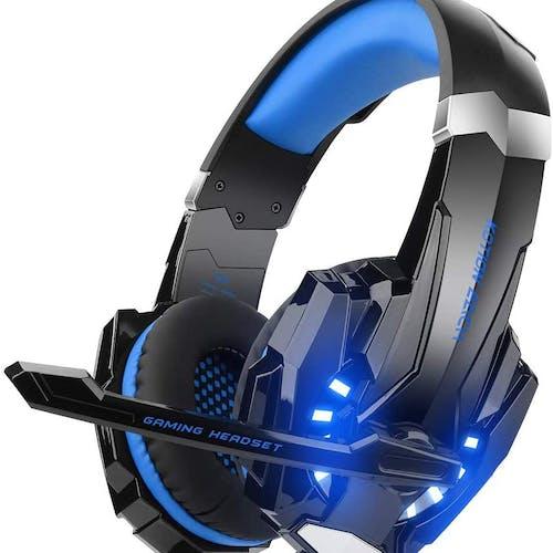 Headset PUBG azul