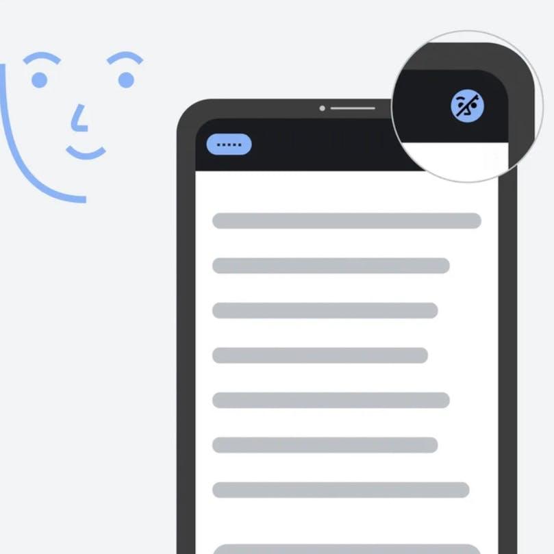 Reprodução do novo recurso que identifica os olhares do usuário
