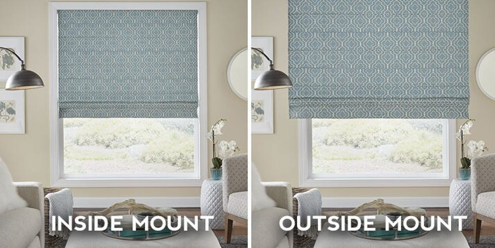 Window Faq Should I Install My Blinds As An Inside Or Outside Mount The Blinds Com Blog