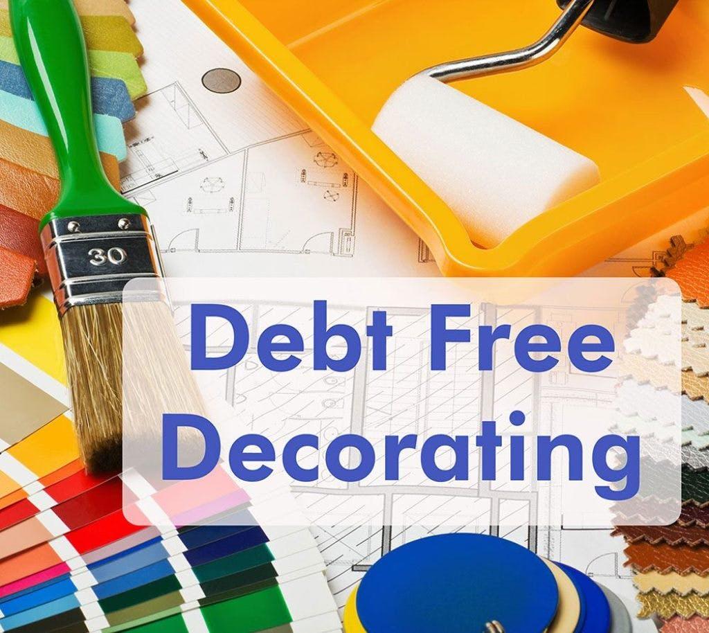 debt free decorating