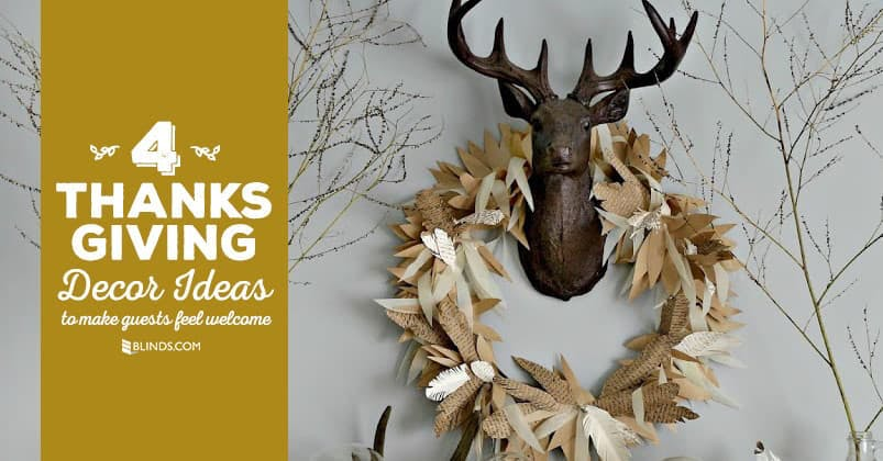 4 thanksgiving decor ideas