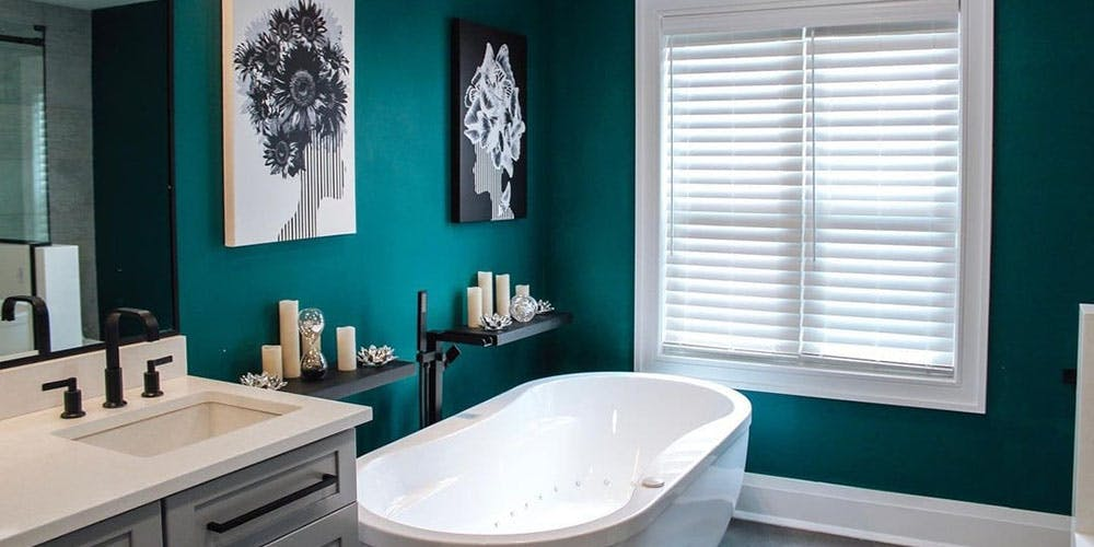 Featured Post - Best Water Resistant Window Treatments For Windows Over Tubs and Sinks