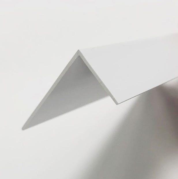 close up shot of the end of a light blocker strip.
