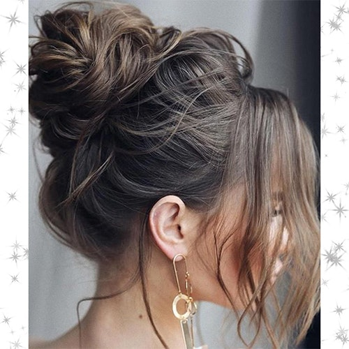 Easy Christmas party updos