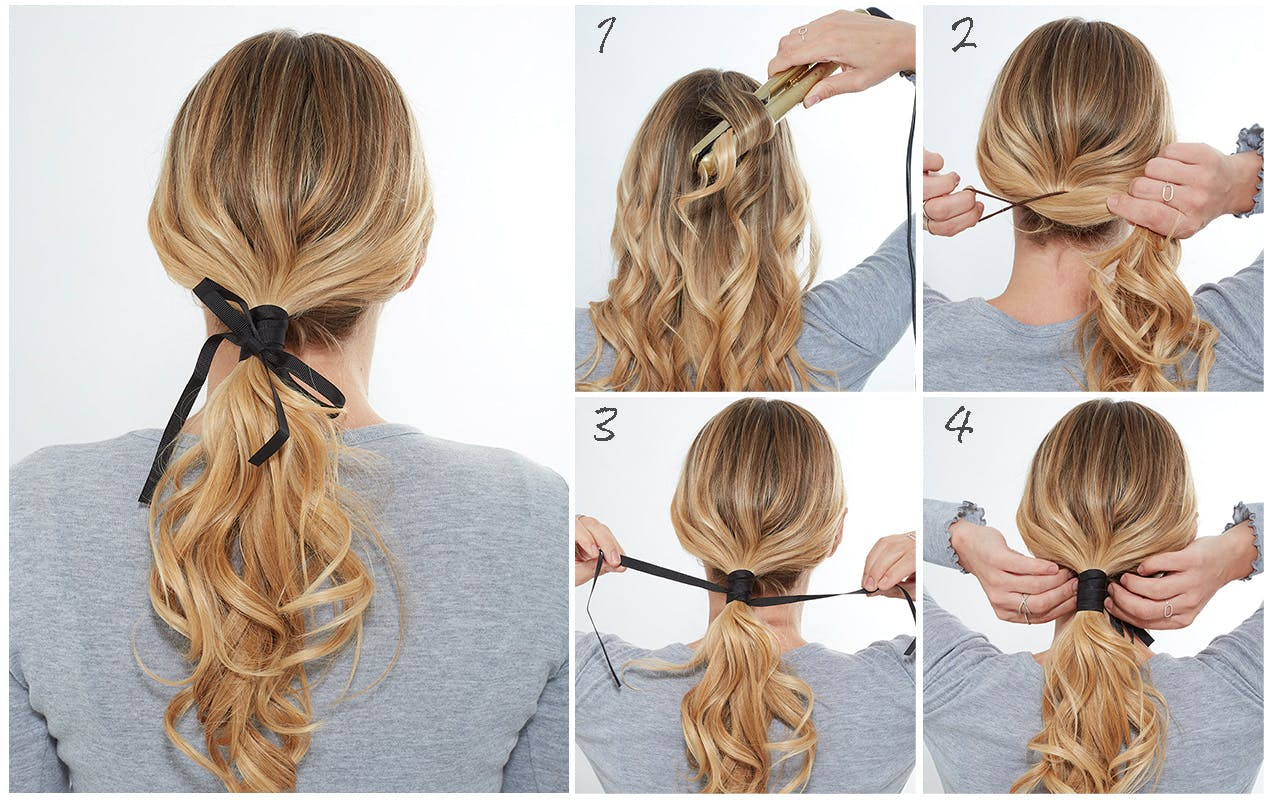 Summer Hairstyles Upscale Your Ponytail Blow Ltd