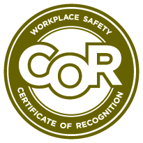Certificate of Recognition (COR) Logo