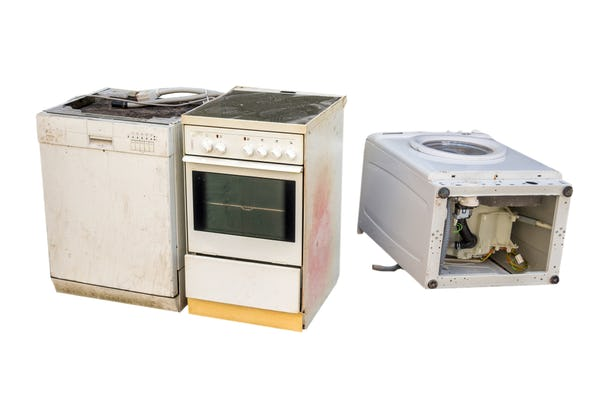 Broken Appliances. Bring to City of Calgary Appliance Recycling Drop