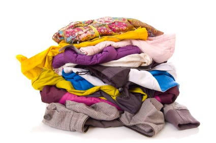 Clothing. Please donate.