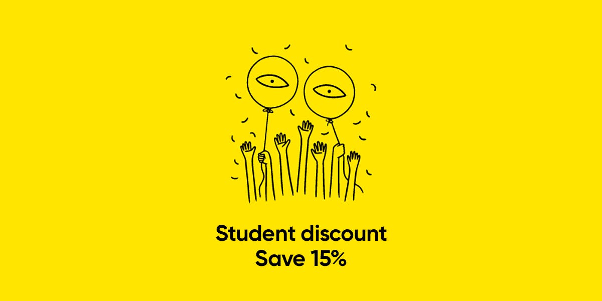 student discount for glasses