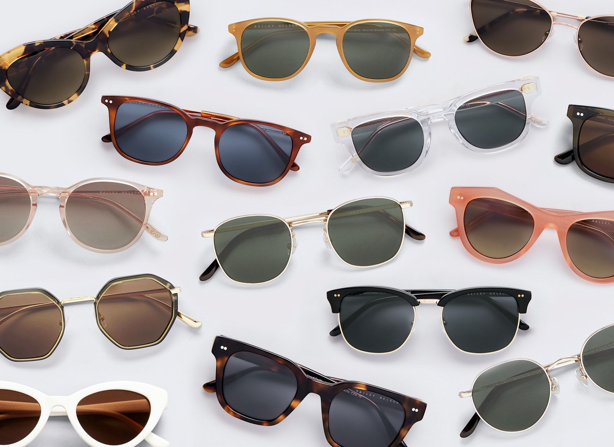 Lots of Bailey Nelson sunglasses