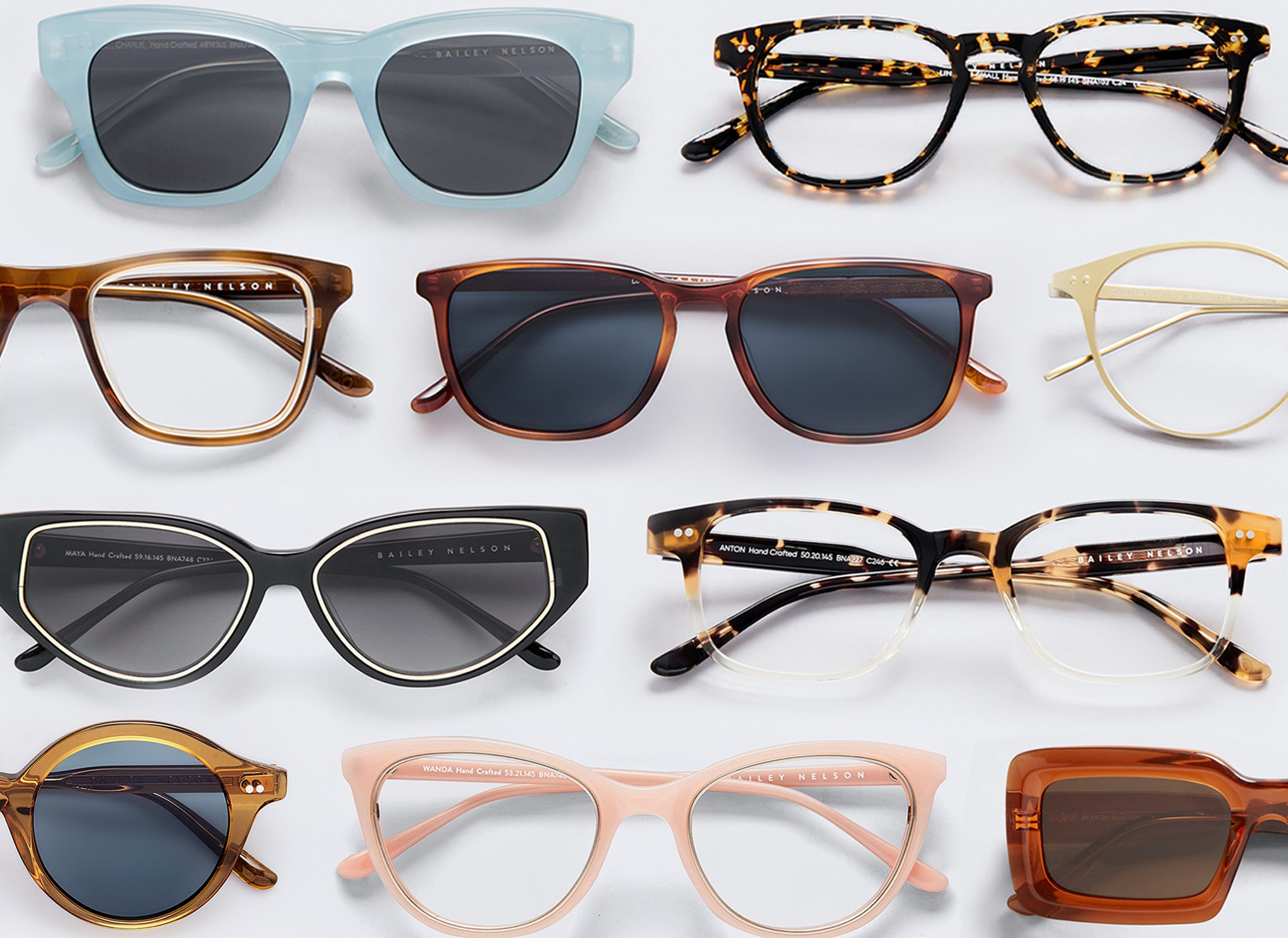 optical and sunglasses on sale for Bailey Nelson
