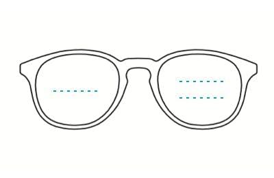 acetate bifocal glasses