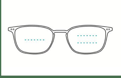 titanium bifocal glasses