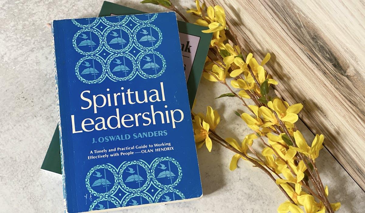 a photo of the book, Spiritual Leadership