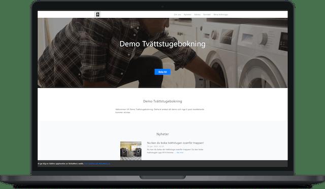 Gratis hemsida ingår när du skapar ett konto för bokningstjänsten hos BokaMera