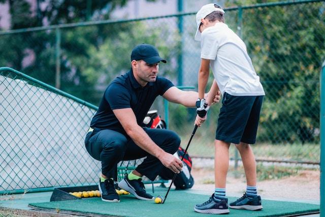 Boka tid med en golftränare online med BokaMeras bokningssystem