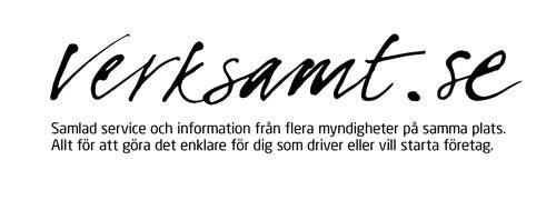 Hitta information på verksamt.se