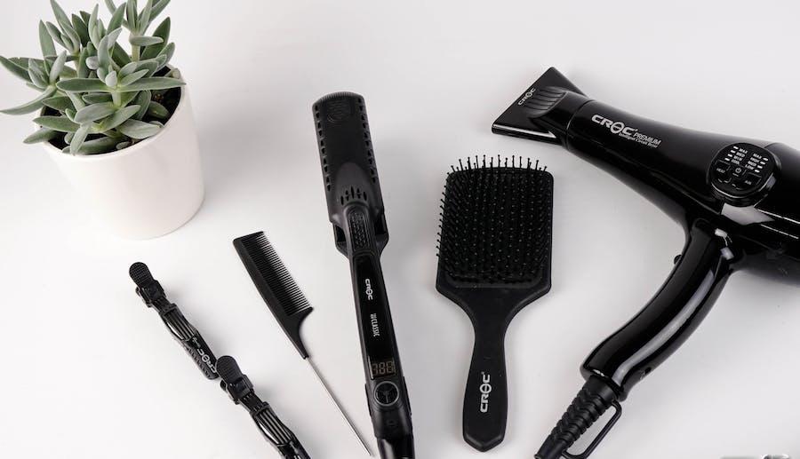 Frisörens verktyg