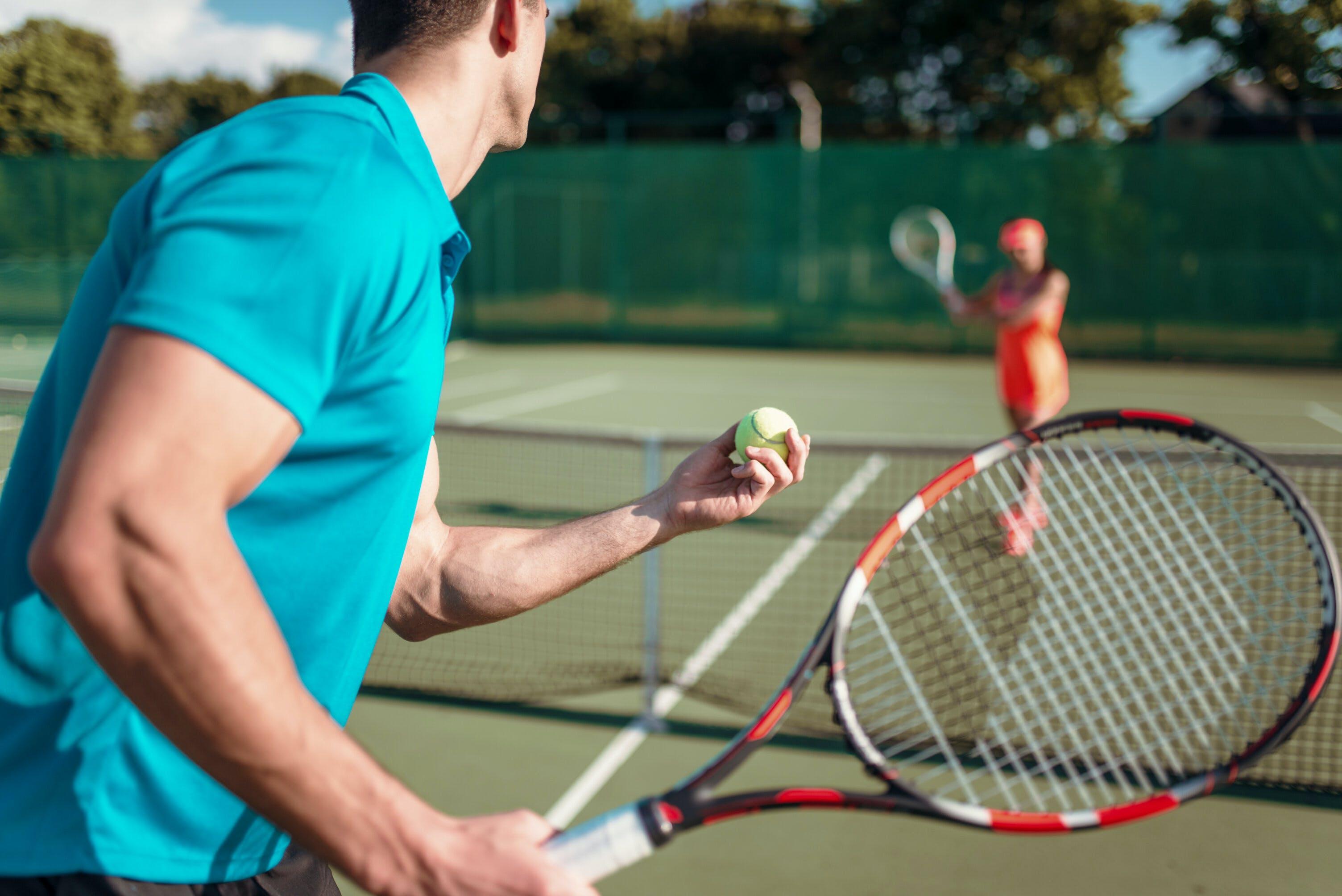 Tennisbanan kan du boka med BokaMeras bokningssystem