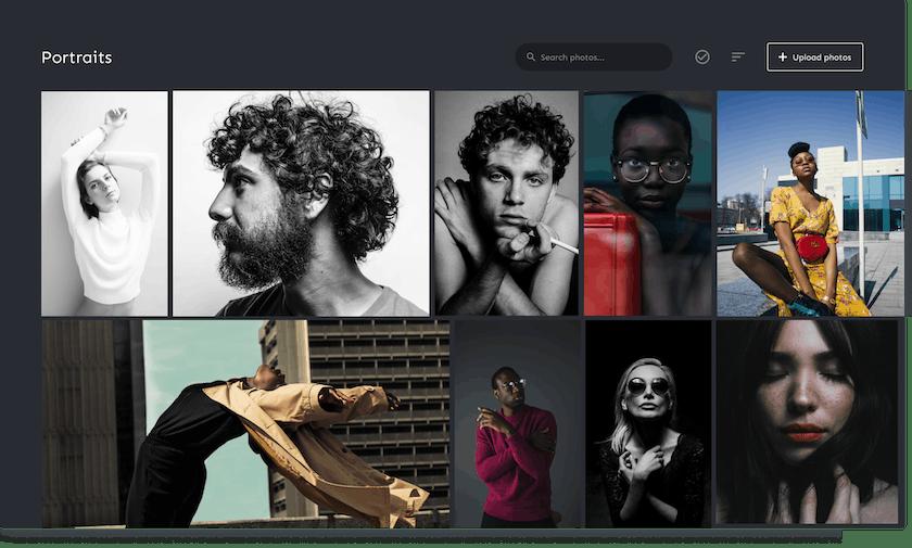 Bokeh photo library