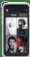 Bokeh dashboard on an iPhone