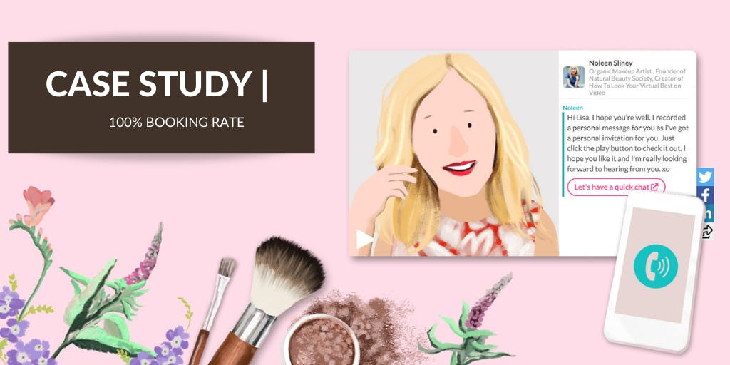 How an Online Makeup Artist Got a 100% Booking Rate