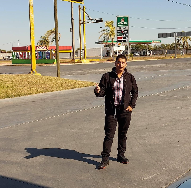 Adán Coronado Marroquí en Miguel Aleman, Tamaulipas.