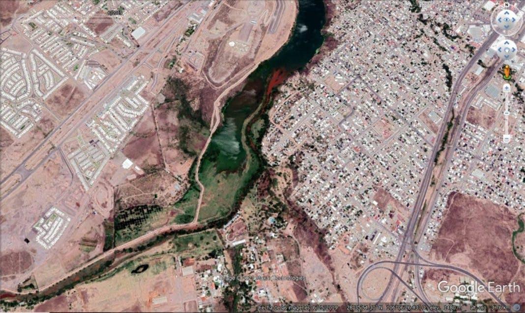 Río Chuviscar.