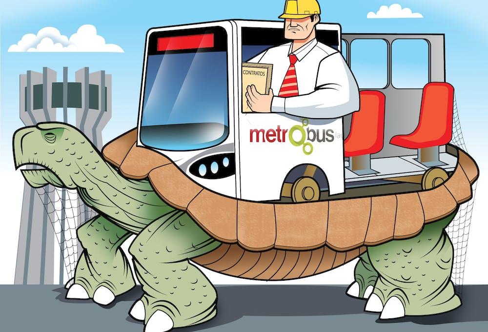 Metrobús Laguna, Coahuila, Durango, corrupción.