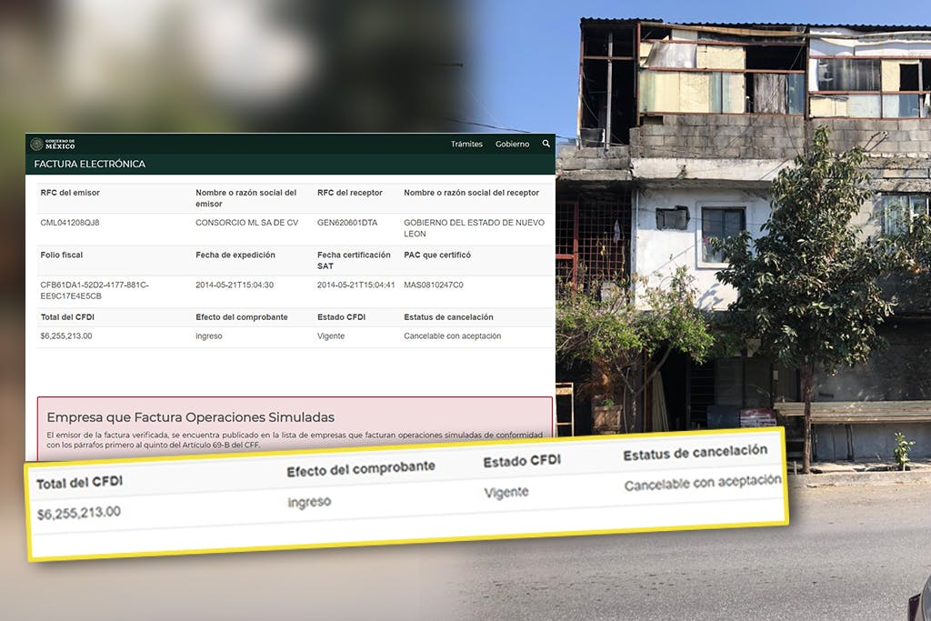 Factureras de Medina y El Bronco, Nuevo León
