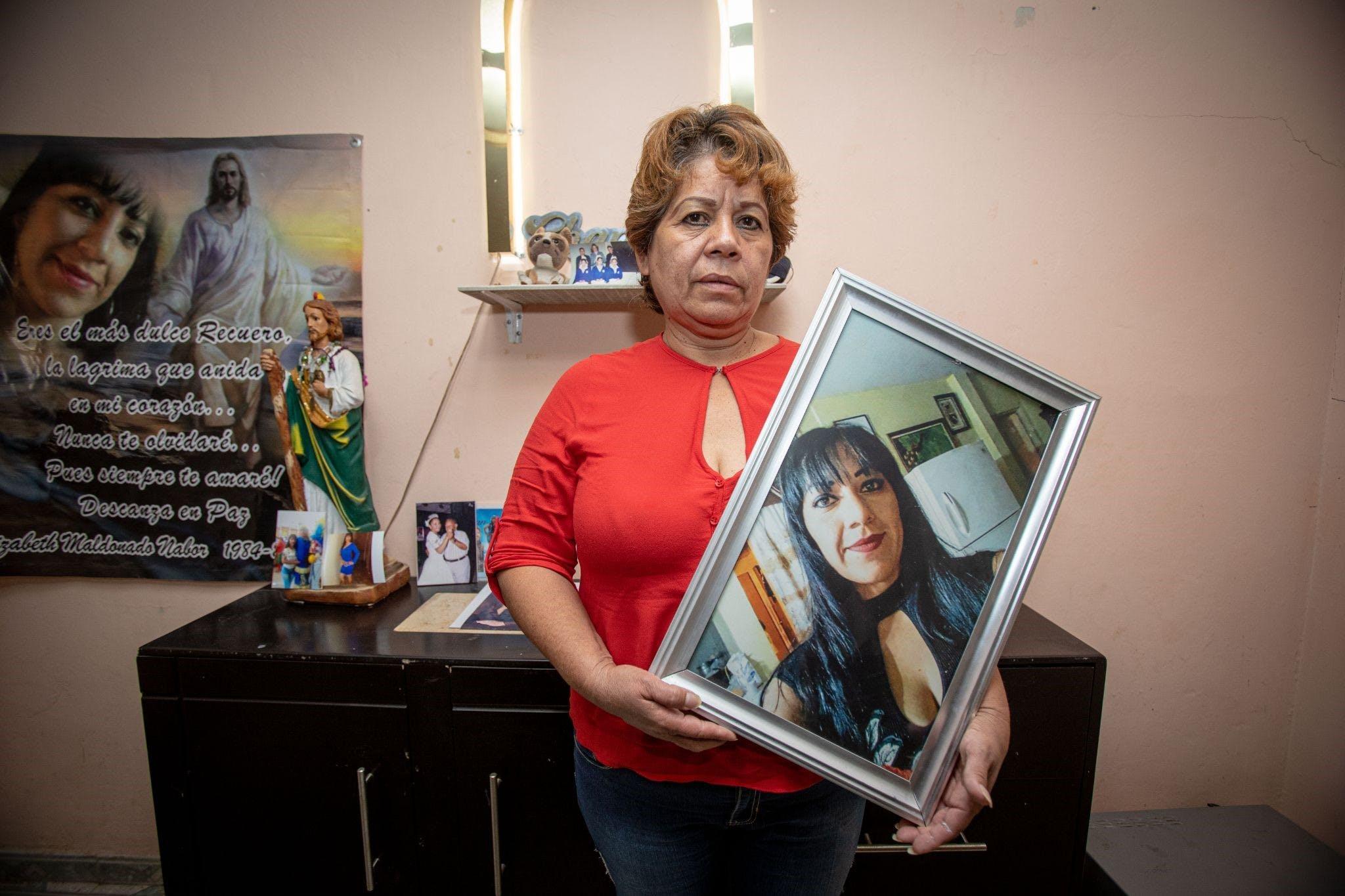 Teresa Nabor, feminicidios en Torreón.