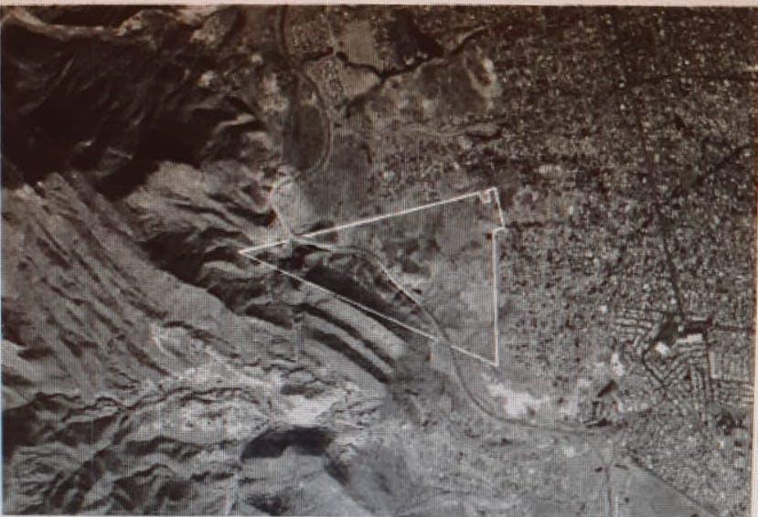 Poligono afectado por el municipio de Juárez